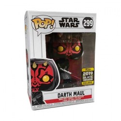 Figurine Pop Star Wars 2019 Galactic Convention Darth Maul Edition Limitée Funko Boutique Geneve Suisse