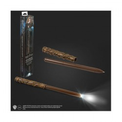 Figur Harry Potter Pen with LED Hermione Wand Noble Collection Geneva Store Switzerland