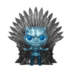 Figurine Pop 15 cm Game of Thrones Night King on Throne Metallic Deluxe Edition Limitée Funko Boutique Geneve Suisse