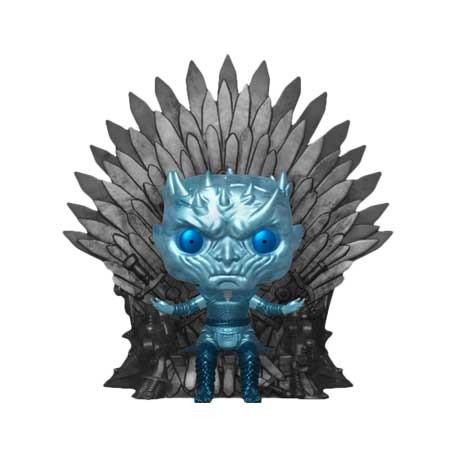 Figur Pop 6 inch Game of Thrones Night King on Throne Metallic Deluxe Limited Edition Funko Geneva Store Switzerland
