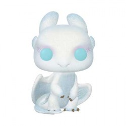 Figurine Pop How To Train Your Dragon 3 The Hidden World Light Fury Glitter Edition Limitée Funko Boutique Geneve Suisse