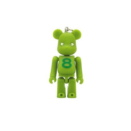 Figur Bearbrick Birthday August by Medicom x Swarovski MedicomToy Geneva Store Switzerland