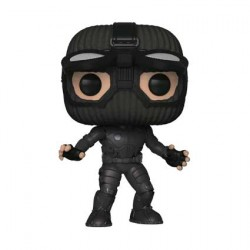 Figur Pop Spider-Man Far From Home Spider-Man in Stealth Suit with Goggles Up Limited Edition Funko Geneva Store Switzerland