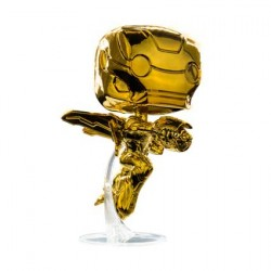 Figurine Pop Iron Man Gold Chrome Edition Limitée Funko Boutique Geneve Suisse