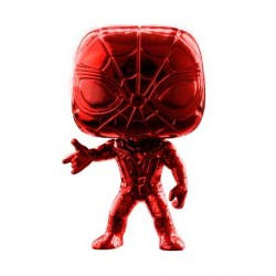 Figurine Pop Iron Spider Red Chrome Edition Limitée Funko Boutique Geneve Suisse