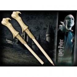 Figurine Harry Potter Marque-pages et Stylo en forme de Baguette Voldemort Noble Collection Boutique Geneve Suisse