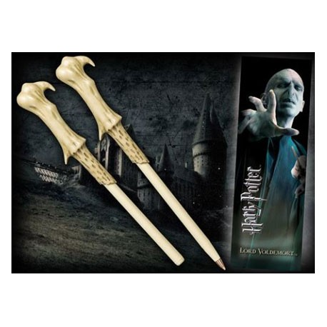 Figur Harry Potter Voldemort Wand Pen and Bookmark Noble Collection Geneva Store Switzerland