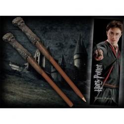 Figurine Marque-pages et Stylo en forme de Baguette Harry Potter Noble Collection Boutique Geneve Suisse