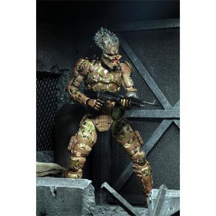 """Le prédateur émissaire Predator II 7/"""" Action Figure par Neca"""