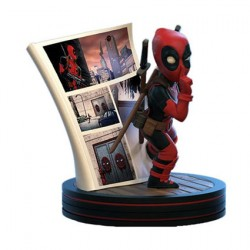 Figur Marvel Deadpool 4D Diorama Q-Fig Quantum Mechanix Geneva Store Switzerland