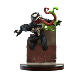 Figur Marvel Venom Diorama Q-Fig Quantum Mechanix Geneva Store Switzerland