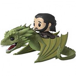 Figuren Pop Rides Game of Thrones Jon Snow with Rhaegal Funko Genf Shop Schweiz