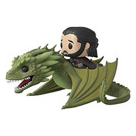Toys Pop Rides Game Of Thrones Jon Snow With Rhaegal Funko Swizerla