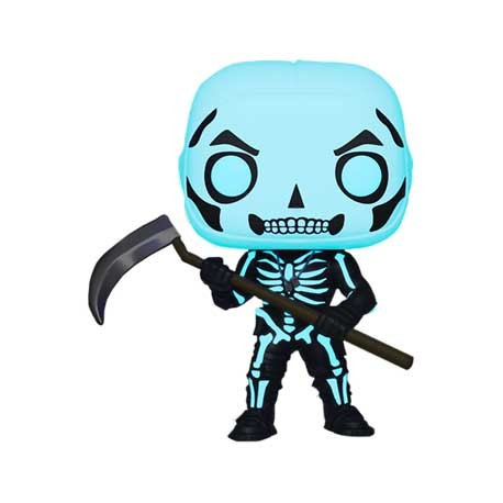 Figurine Pop Fortnite Phosphorescent Skull Trooper Edition Limitée Funko Boutique Geneve Suisse