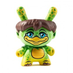 Figurine Dunny City Cryptid Kappa par Scott Tolleson Kidrobot Boutique Geneve Suisse