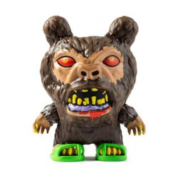 Figur City Cryptid Dunny Sasquatch by Skinner Kidrobot Geneva Store Switzerland