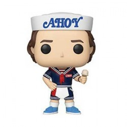 Figurine Pop Stranger Things Season 3 Steve with Hat and Ice Cream Funko Boutique Geneve Suisse
