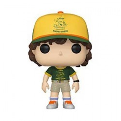Figurine Pop TV Stranger Things Season 3 Dustin At Camp Funko Boutique Geneve Suisse