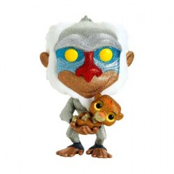 Figurine Pop Disney Diamond The Lion King Rafiki Holding Baby Simba Glitter Edition Limitée Funko Boutique Geneve Suisse