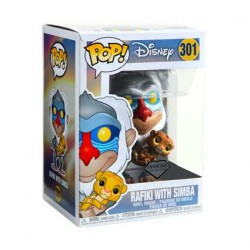 Figurine Pop Diamond Disney The Lion King Rafiki Holding Baby Simba Glitter Edition Limitée Funko Boutique Geneve Suisse