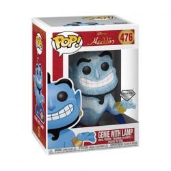 Figuren Pop Diamond Disney Aladdin Genie mit Lamp Glitter Limitierte Auflage Funko Genf Shop Schweiz