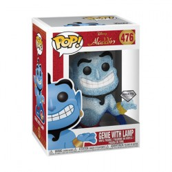 Figurine Pop Diamond Disney Aladdin Genie avec Lamp Glitter Edition Limitée Funko Boutique Geneve Suisse