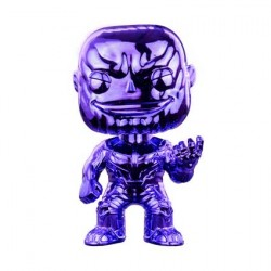 Figurine Pop Avengers Infinity War Thanos Purple V2 Chrome Edition Limitée Funko Boutique Geneve Suisse