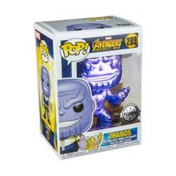 Figurine Pop Avengers Infinity War Thanos Purple V2 Chrome Edition Limitée Funko Boutique Geneve Suisse