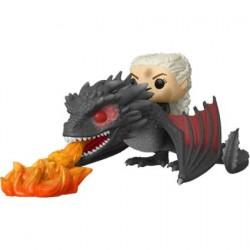 Figurine Pop Game of Thrones Daenerys sur Fiery Drogon Funko Boutique Geneve Suisse