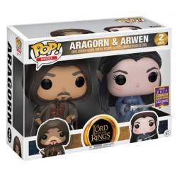 Figurine Pop SDCC 2017 Le Seigneur des Anneaux Aragorn et Arwen 2-pack Funko Boutique Geneve Suisse