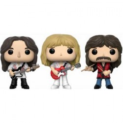 Figurine Pop Rocks Rush Geddy Alex Neil 3-Pack Funko Boutique Geneve Suisse