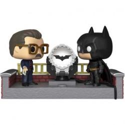Figurine Pop avec Led Movie Moment Batman 80th white Light Up Bat Signal Funko Boutique Geneve Suisse