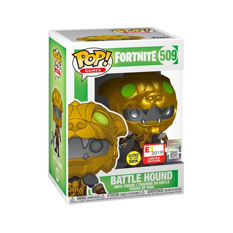 Figur Pop E3 Convention 2019 Fortnite Battle Hound Limited Edition Funko Geneva Store Switzerland