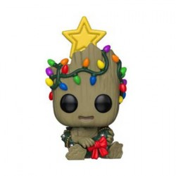 Figurine Pop Marvel Holiday Groot Funko Boutique Geneve Suisse