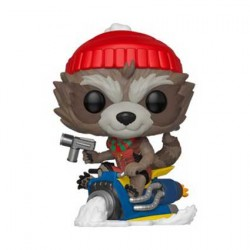 Figurine Pop Marvel Holiday Rocket Funko Boutique Geneve Suisse