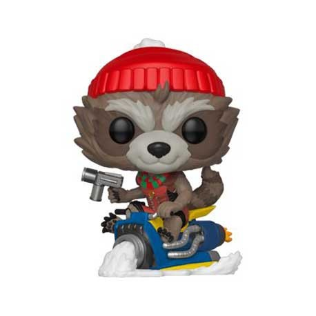 Figur Pop Marvel Holiday Rocket Funko Geneva Store Switzerland