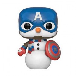 Figurine Pop Marvel Holiday Captain America Funko Boutique Geneve Suisse