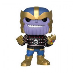 Figurine Pop Marvel Holiday Thanos Funko Boutique Geneve Suisse