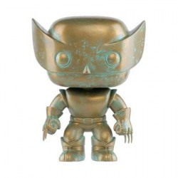 Figurine Pop Marvel 80th Anniversary X-Men Wolverine Patina Edition Limitée Funko Boutique Geneve Suisse