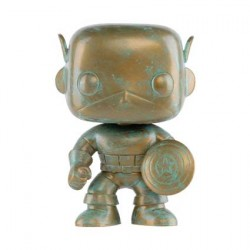 Figurine Pop Marvel 80th Anniversary Captain America Patina Edition Limitée Funko Boutique Geneve Suisse