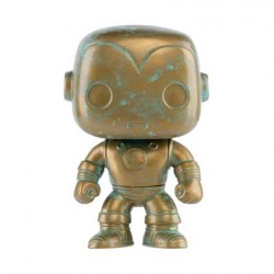Figurine Pop Marvel 80th Anniversary Iron Man Patina Edition Limitée Funko Boutique Geneve Suisse