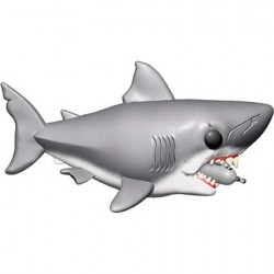 Figur Pop Movies Jaws 6 inch Jaws with Diving Tank Funko Geneva Store Switzerland