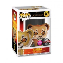 Figur Pop Flocked Disney Lion King Simba Limited Edition Funko Geneva Store Switzerland