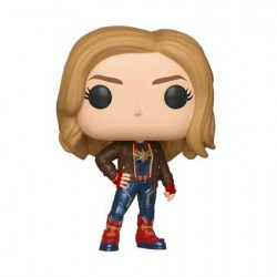Figurine Pop Captain Marvel with Jacket Edition Limitée Funko Boutique Geneve Suisse