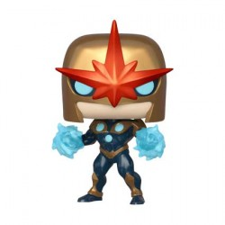 Figurine Pop Marvel Nova Metallic Edition Limitée Funko Boutique Geneve Suisse