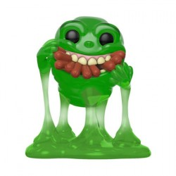 Figurine Pop Ghostbusters Translucent Slimer with Hot Dogs Edition Limitée Funko Boutique Geneve Suisse