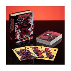 Figur Marvel Deadpool Playing Cards Paladone Geneva Store Switzerland