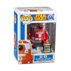 Figur Pop Star Wars Galactic Convention 2019 R2-R9 Limited Edition Funko Geneva Store Switzerland