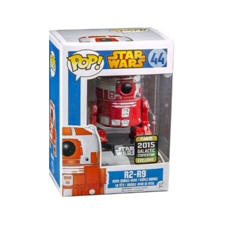 Figur Pop Star Wars Galactic Convention 2015 R2-R9 Limited Edition Funko Geneva Store Switzerland