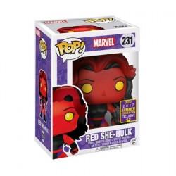 Figurine Pop SDCC 2017 Marvel Red She-Hulk Edition Limitée Funko Boutique Geneve Suisse